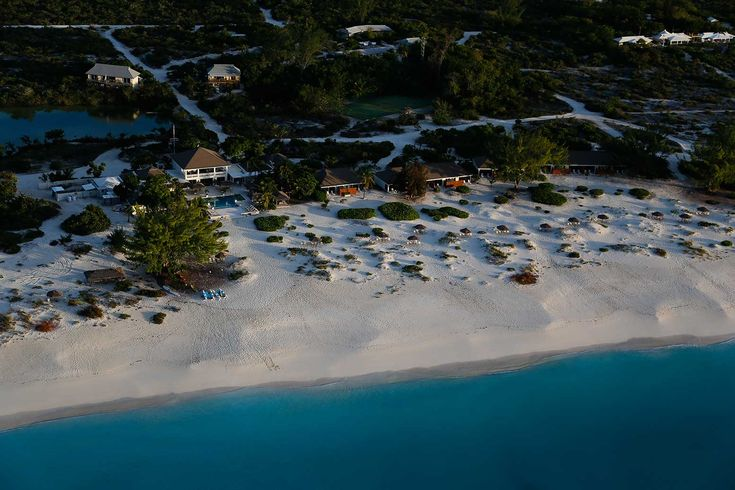Meridian Club on Pine Cay - Aerial View