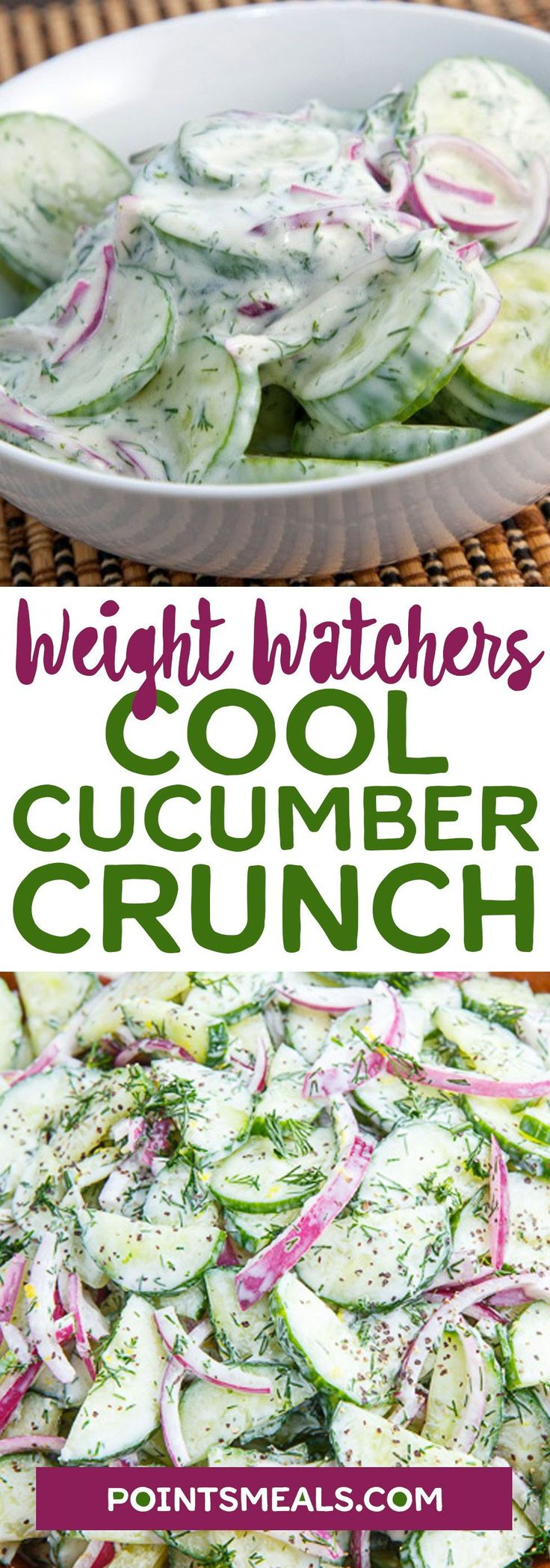 #weight_watchers Crunchy fresh cucumber