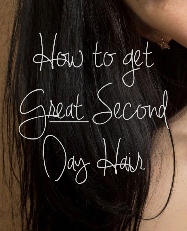 Kristina does the Internets: Five Tips for the Best Second Day Hair