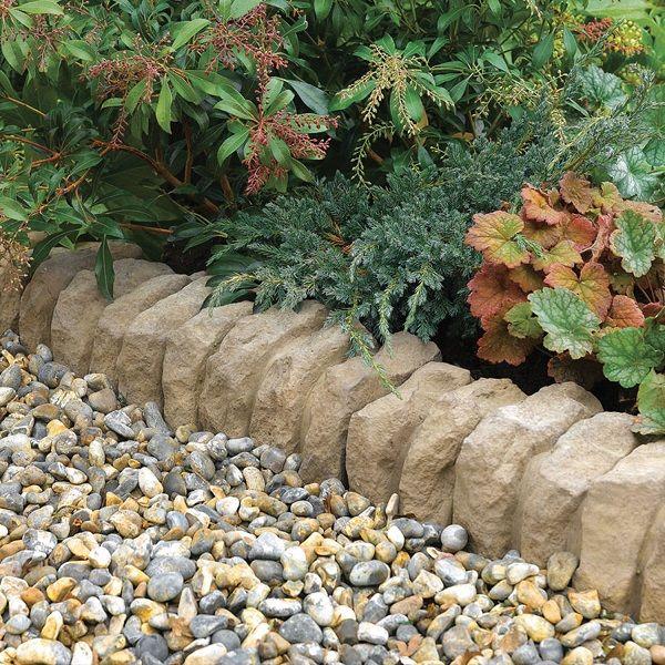 Garden Ideas With Stones 45 best garden edging images on pinterest | gardening, garden