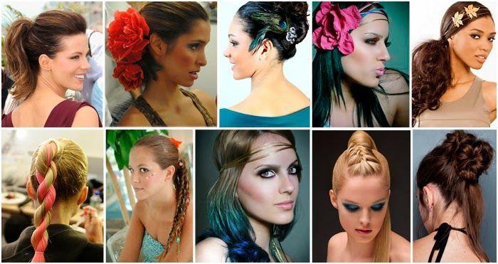 Penteados incríveis para o carnaval: