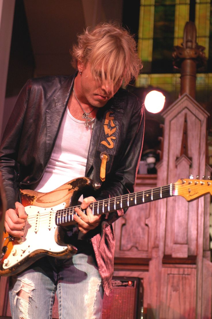 Kenny Wayne Shepherd (born Kenny Wayne Brobst; June 12, 1977) is an American guitarist, singer, and songwriter. He has released several studio albums and experienced significant commercial success both as a blues artist and a young musician.