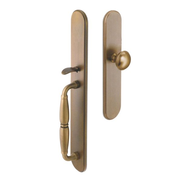 Dummy Entry Set. Solid Brass. Made in Italy.