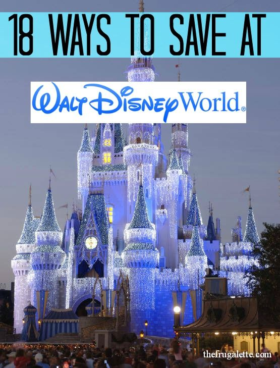 18 Ways to Save at Disney World (and 4 Freebies!) via @Isra De {The Frugalette}