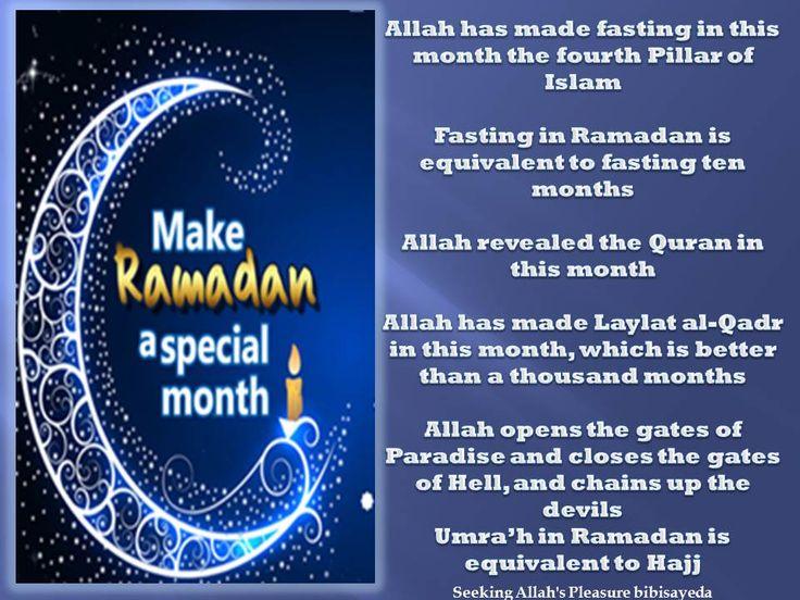 make Ramadan special