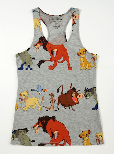 A New Lion King Collection is Roaring Into Wet Seal