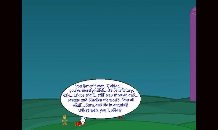 Tobias and teh Dark Secptres ist ein freeware retro Jump and Run Spiel.