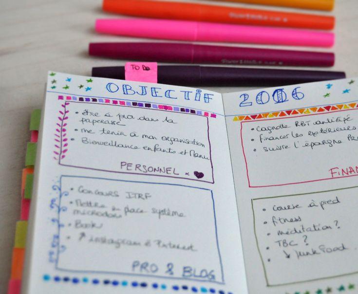[DIY] Le bullet journal à ma sauce : un organisateur pour 3 euros