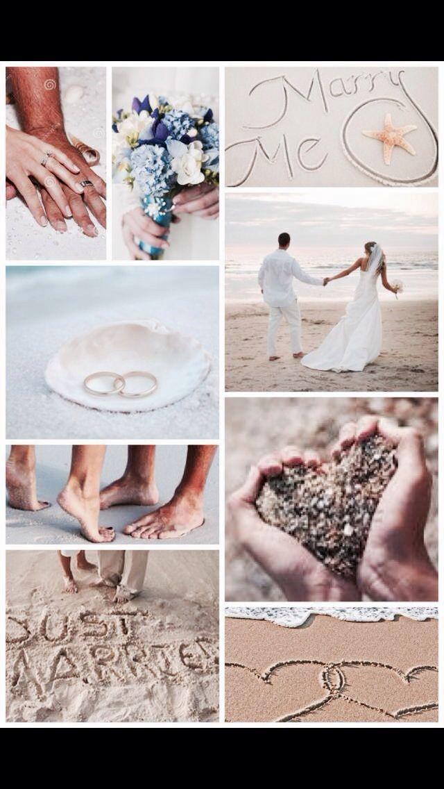 Leuke ideeën voor bruids foto's strand
