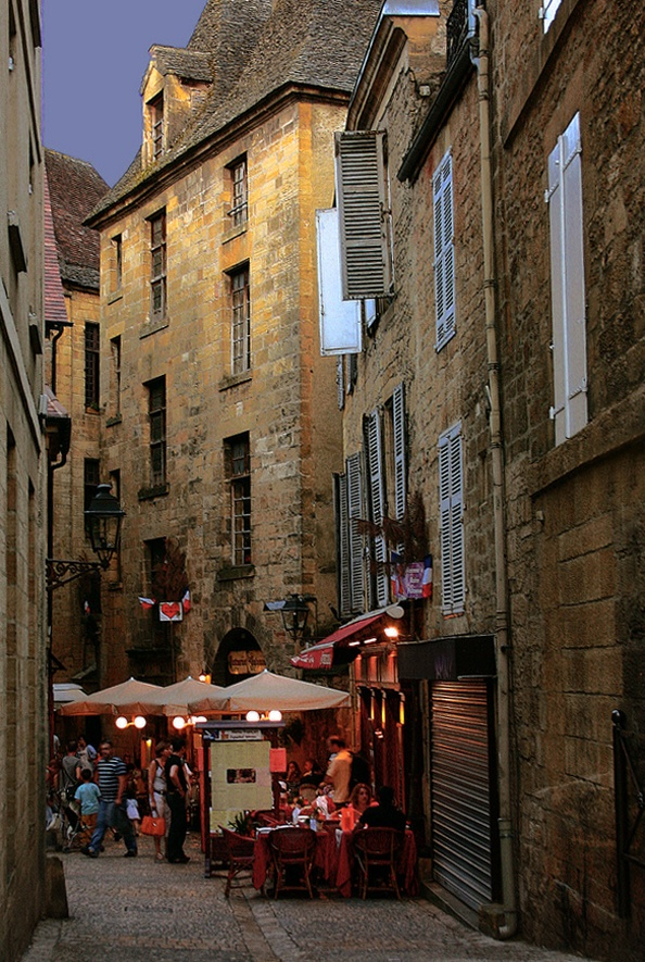 Sarlat-la-Caneda, France...honeymoon anyone???