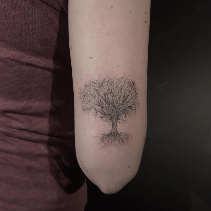 Oak Tree With Roots Tattoo: The 25+ Best Oak Tree Tattoo Ideas On Pinterest