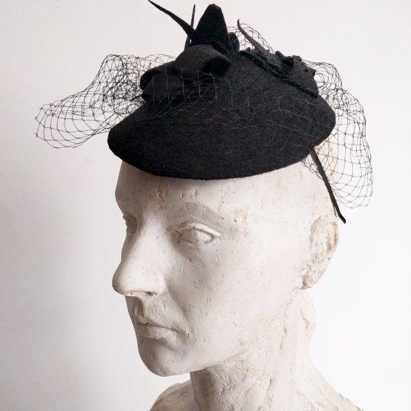 ZINA Fascinator hat made by Eventivity Accessorize