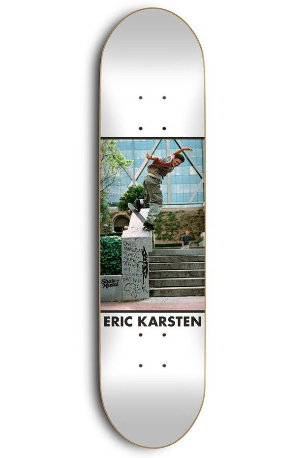 Kleppan Eric Karsten skateboard deck by Skate Mental.