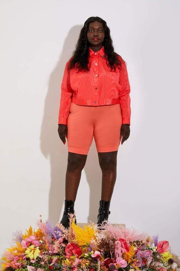 Tamara Malas Phantasm Jacket in Electric Coral Size 10/12 9