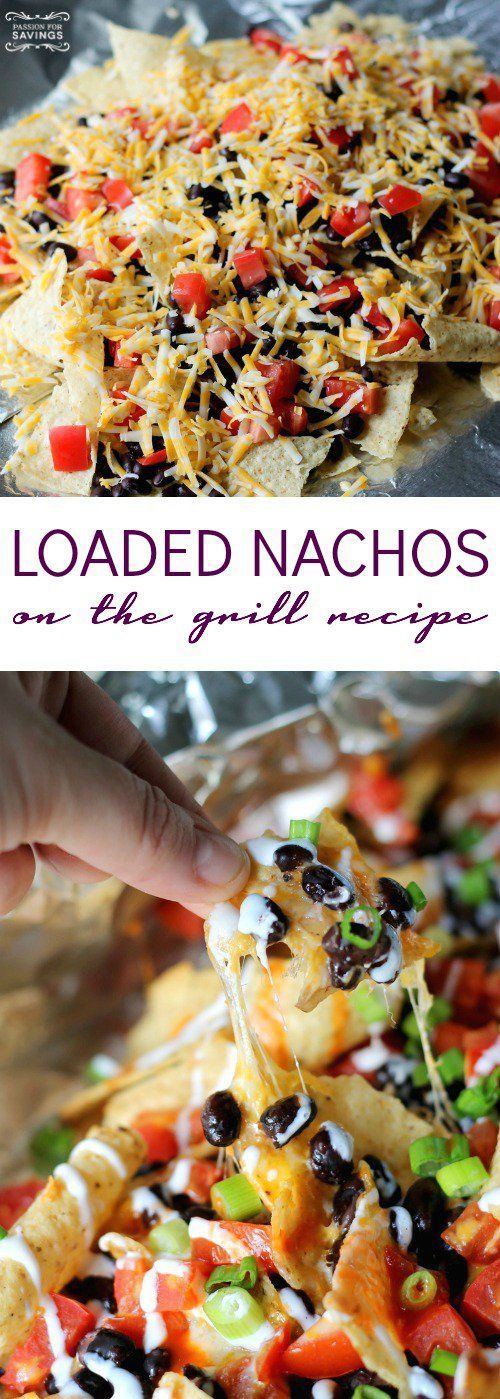 Loaded Nachos on the Grill by Passion for Savings - I never would have thought about GRILLING NACHOS!! SAVING!
