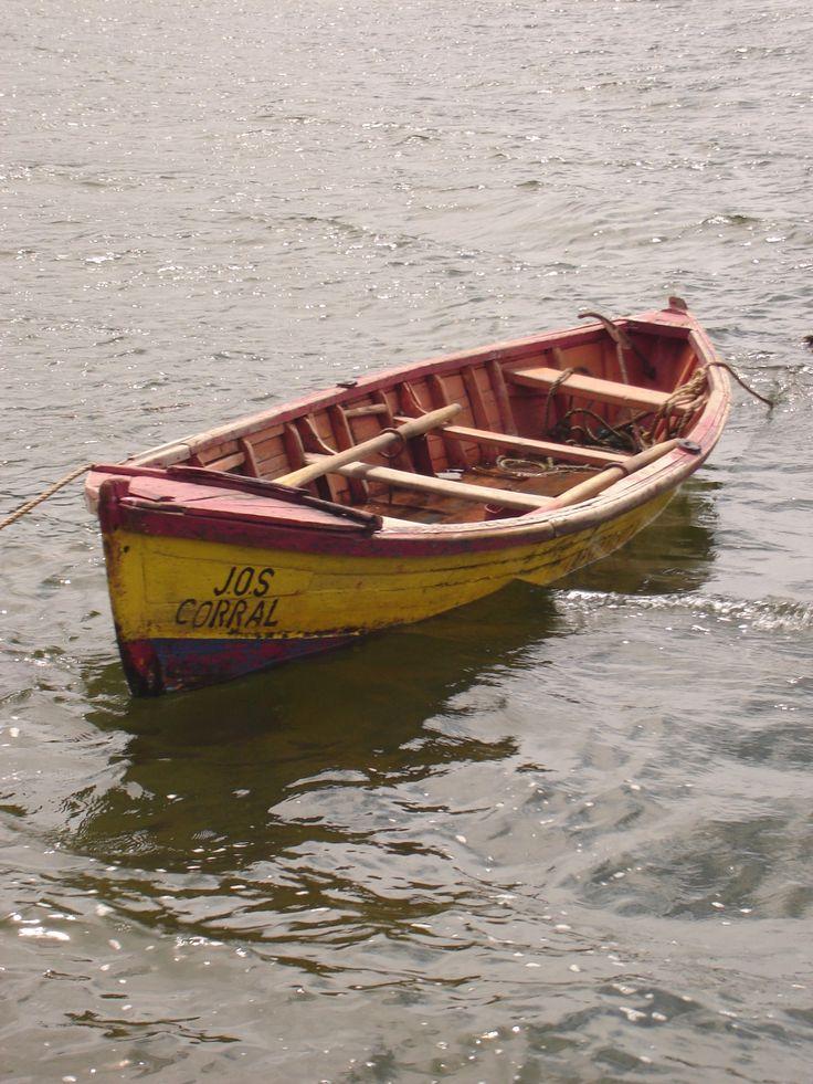 Bote de pesca en Corral