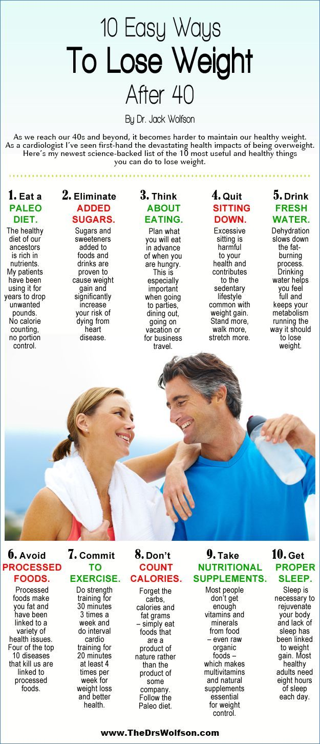 Losing weight safely can be a challenge after age 40. In this infographic we share with you 10 scientifically proven ways to safely lose weight, specifically geared to adults over age 40. Put This Infographic On Your Site: We welcome the publication of this infographic on your blog and website. To use this infographic, please […]