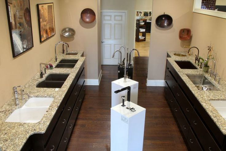 Kitchen Sink & Faucet Display
