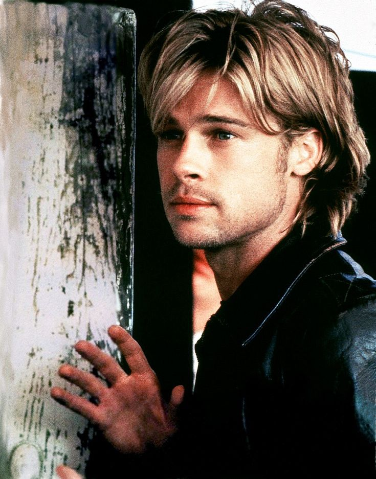 Hollywood Actors | Cool Brad Pitt Hairstyle....