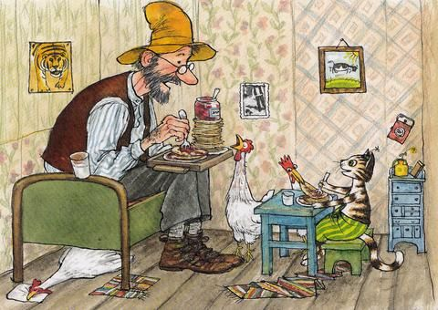 Read our blog about Swedish author and illustrator Sven Nordqvist, and what makes his work so special.