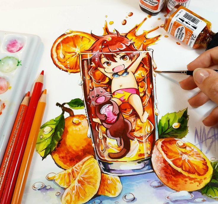 Naschi ♡ Free! Iwatobi swimming club // Drawing