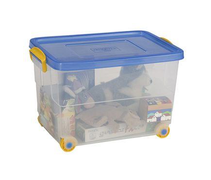Cajones de plastico ikea caja de plstico eurobox leroy for Cajas almacenaje leroy merlin