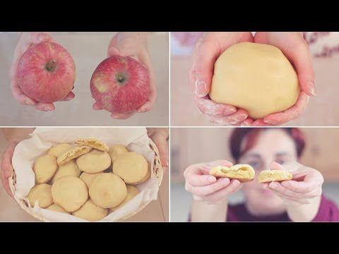 BISCOTTI CUOR DI MELA Ricetta Facile - APPLE FILLED COOKIES Easy Recipe - YouTube