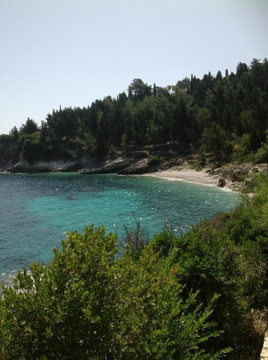 Glyfada beach Villas Paxos Greece