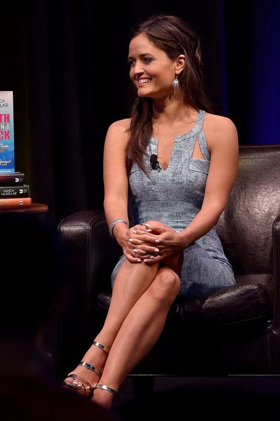 """Actress Danica McKellar speaks onstage during The Paley Center For Media & Google present """"Cracking the Code: Diversity, Hollywood & STEM"""" at Google Headquarters on October 3, 2015 in Venice, California."""