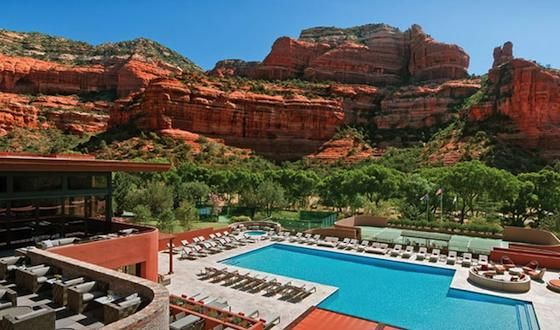 Five-Star Luxury at Family Prices in Sedona, Arizona  - Enchantment Resort in Arizona's Red Rock Country, has earned dozens of stars and diamonds, climbed onto most top ten best lists and generated thousands of adjectives, many of them, rather oddly, starting with the letter M -- Magical, mystical, mythical, magnetic, magnificent and monumental head the deluge