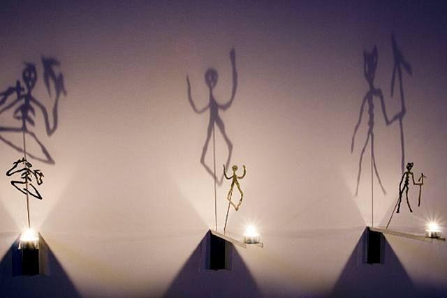 Christian Boltanski, Les ombres bougies, TOT