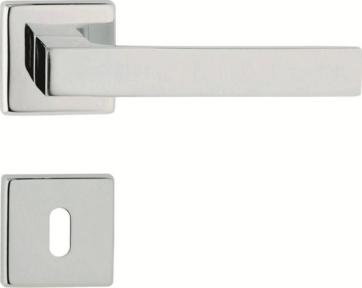 ZEN Door handle with lock by LINEA CALI'
