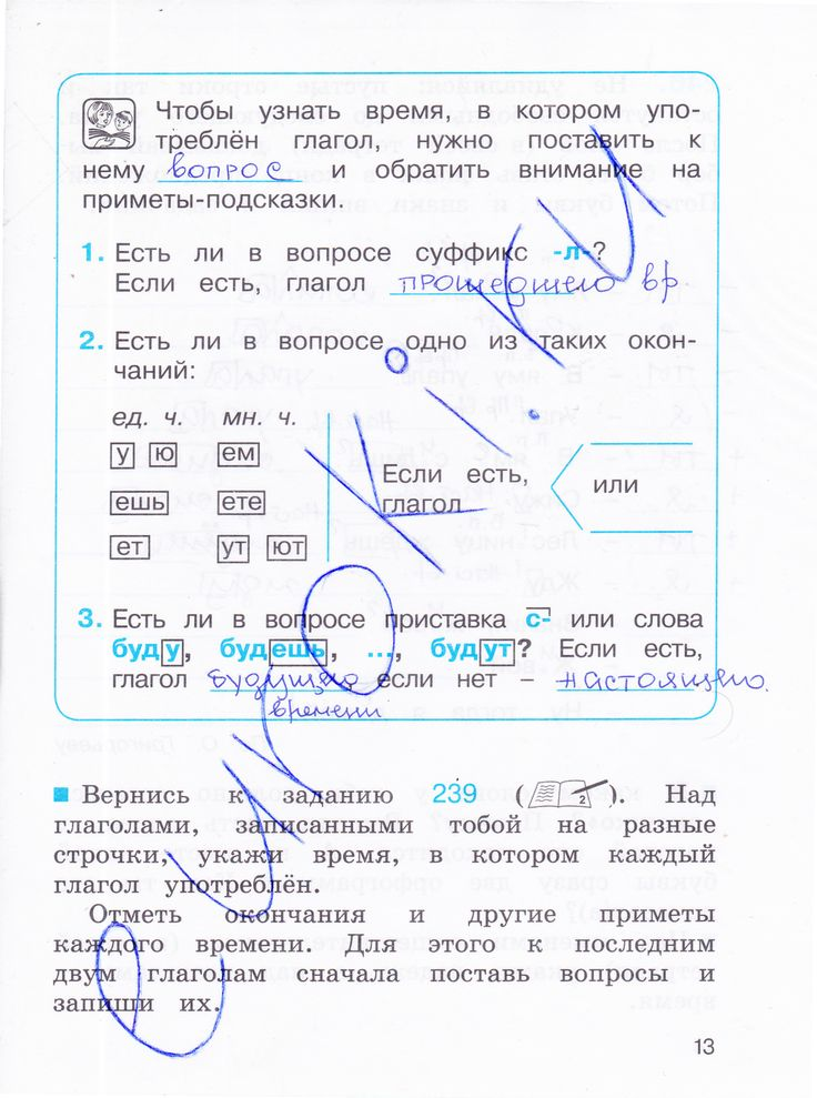 3 часть языку 4 рабочей тетради соловейчик класса в русскому по гдз