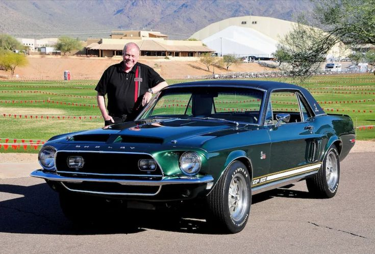 """The Historic """"Green Hornet"""" 1968 Ford Mustang Shelby EXP 500 Headed for a Historically-Correct Restoration Before MCACN 2018 Debut"""