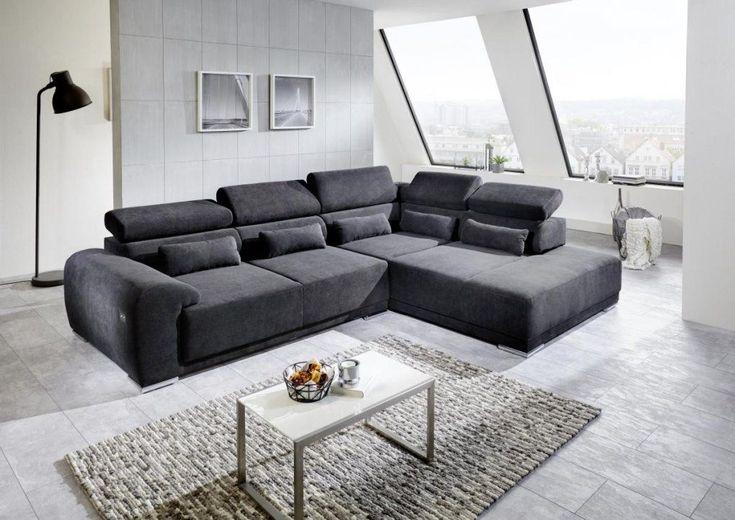 Poco Ecksofa Mit Schlaffunktion Wohnen Sofa Vorhange Wohnzimmer