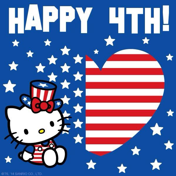Hello Kitty Fourth of July