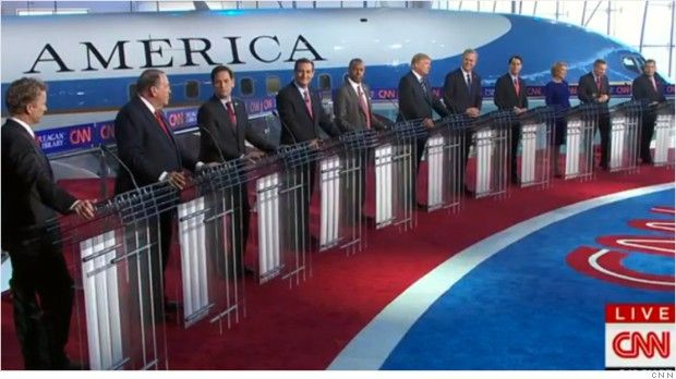 "Wednesday's prime time GOP debate averaged 22.9 million viewers, making it the most-watched program in CNN's history. The 6 p.m. ""undercard"" debate drew 6.3 million viewers."