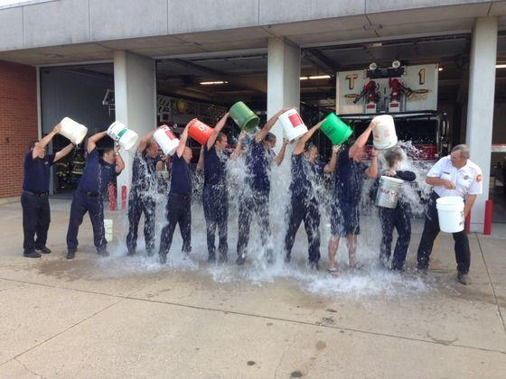 Battle Creek Fire Dept. answers Ice Bucket Challenge - WWMT - News, Sports, Weather, Traffic