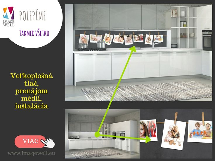 Foto do kuchyne, kuchynská zástena