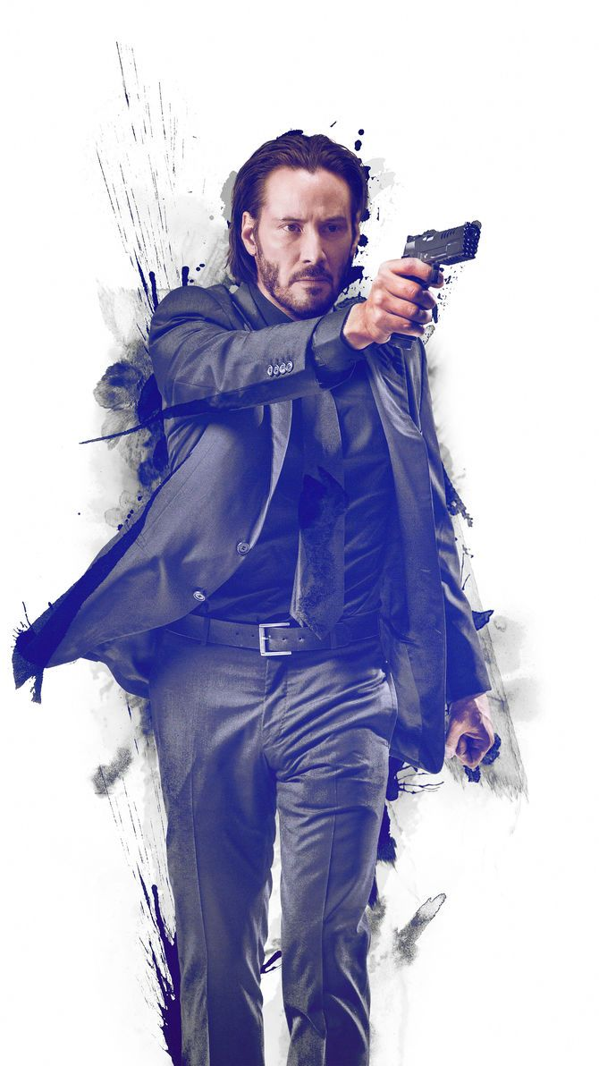 John Wick 2014 Phone Wallpaper Moviemania Keanu Reeves John Wick John Wick Tattoo John Wick Movie