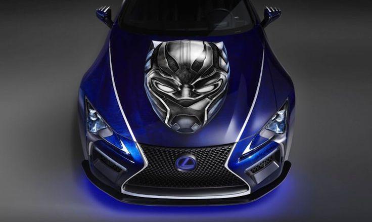 Kiedy superbohater jest natchnieniem... http://exumag.com/para-idealna-czarna-pantera-i-lexus-lc-500/