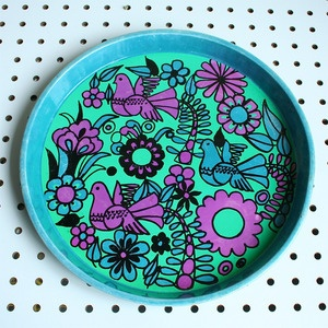 Vintage Tin Birdy Tray - we have this at home :)