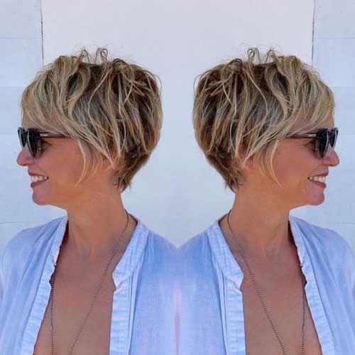 2017 Besten Kurze Haarschnitte für Ältere Frauen