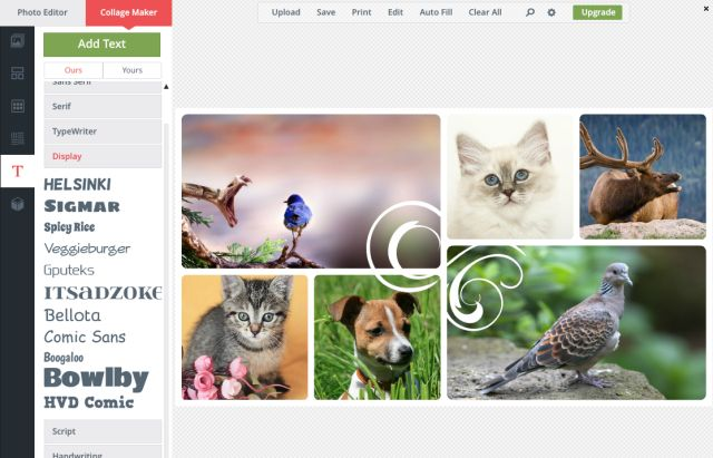 Create a Custom Collage With These Free Photo Collage Makers: BeFunky