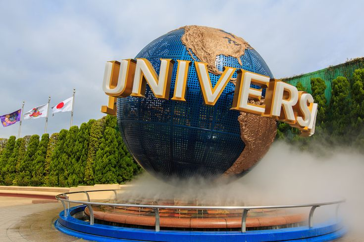 Universal Studios Japan By train  From Namba      The theme park is a 5-minute walk from Universal City Station (JR Yumesaki Line).     Hanshin Namba Line to Nishikujo (4th stop) then transfer to JR Yumesaki Line and get off at Universal City Station     Duration: 25 minutes     Cost: 360 yen     Frequency: ~1 train per 15 minutes