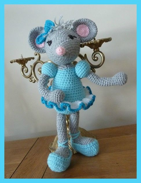 Amigurumi, crochet, souris