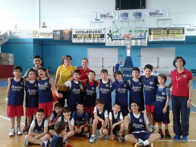 Il ringraziamento della Lice Puglia all'Ambrosia Basket Bisceglie