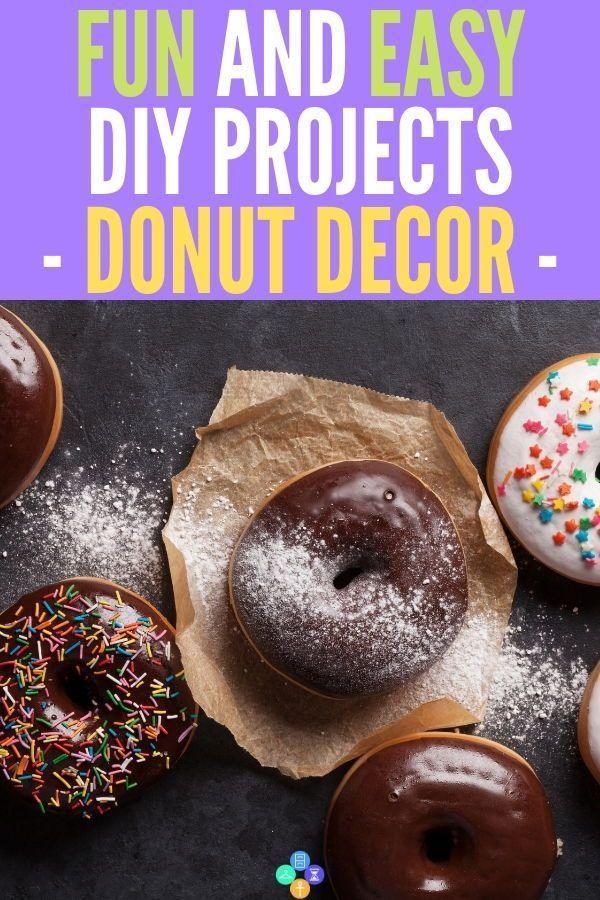 Donut-Dekor – vielseitig, angenehmer Stil