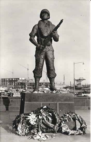 "Monument Dutch Marines ""Rotterdam """