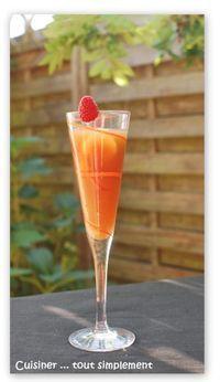 Sangria sans alcool : 500ml de jus d'orange 500ml de jus de raisins 500ml de…